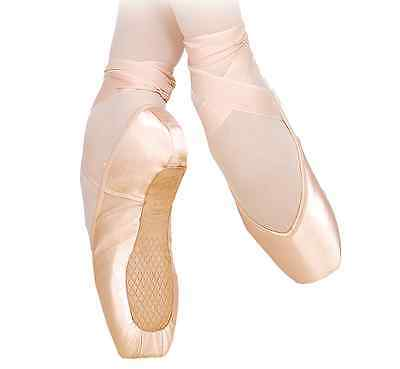 Pink Satin Grishko Fouette pointe shoes - all sizes and widths