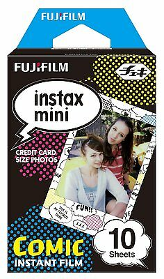 Fujifilm fuji instax mini Comic Strip instant x10 Shots Film