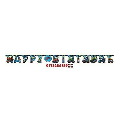 Guirnalda Happy Birthday Cumpleaños Personalizable Blaze (18308)