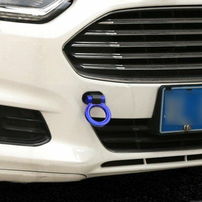 Universal Ring Car SUV Truck Track Racing Style Tow Hook Blue Ring Decoration@IT