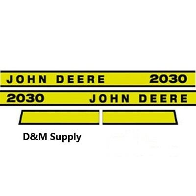 To fit John Deere 2030E tractor decal set