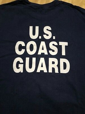 United States Coast Guard World Trade Center Response Team VINTAGE Rescue Shirt