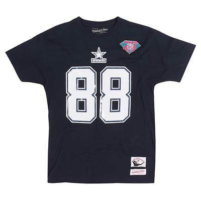 Mitchell & Ness Michael Irvin #88 Dallas Cowboys Throwback NFL T-Shirt Navy