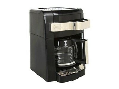 Delonghi Dcf2212t 12 Cup Gl Carafe Drip Coffee Maker Black No Shipping