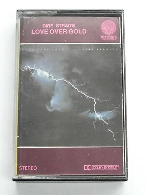 Dire Straits - Love Over Gold - Made In Greece (Cassette Tape) Used Very Good