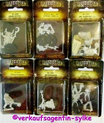 Minatur Figuren: CRUCIBLE - Conquest of the Final Realm, Tabletop-Figuren, NEU
