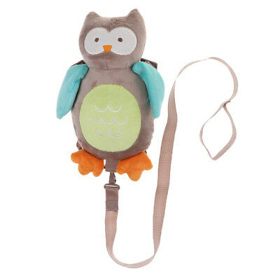 Cute Animal Baby Child Toddler Walking Safety Harness Backpack Owl