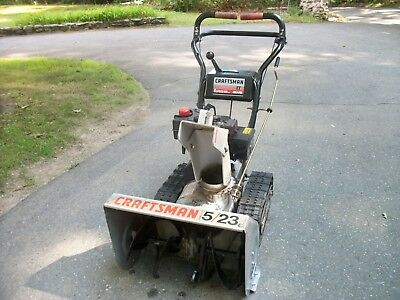 Craftsman TRAC DRIVE Snowblower - Good Condition - Price Lowered, Snow Coming