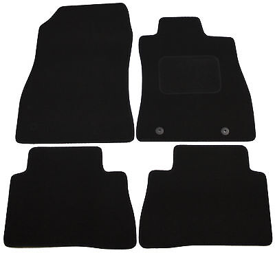 For Nissan Qashqai 2014On Fully Tailored Black Carpet Car Mats