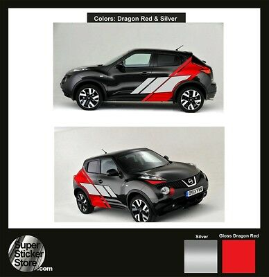 Nissan Juke Stickers Custom Car Whole Body Styling Decal Vinyl Red