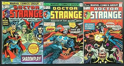 DOCTOR STRANGE#11 12 13-HIGH GRADES MUST SEE PICS-Lot Of 3