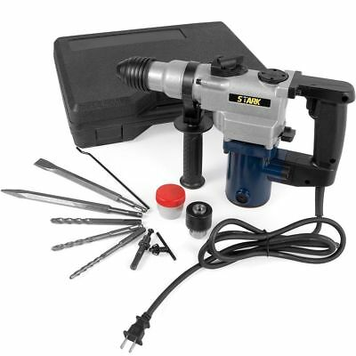 """1"""" SDS Electric Rotary Hammer Drill Plus Demolition w/ Bits Variable Speed"""