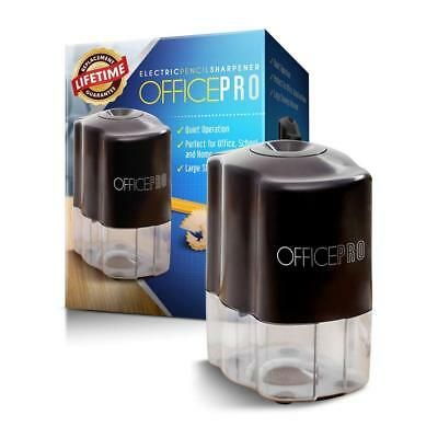 OfficePro Electric Pencil Sharpener - For School and Classroom, Helical Steel