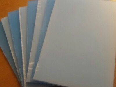 Clear PETG Sheet Food Safe FDA A6 x 4mm thick 2 Panels