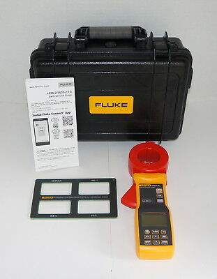 Fluke 1630-2Fc Earth Ground Clamp Meter W Hard Case New