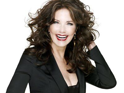 Lynda Carter Beautiful Smile With Red Lips 8x10 Quality Photo Print
