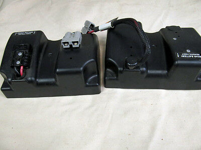 Battery Boxes / Covers with Wiring & Straps Invacare M51 Pronto Sure Step