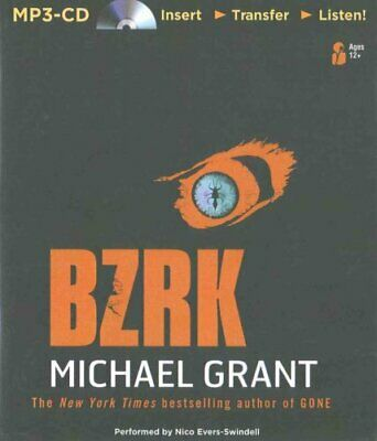 Bzrk by Michael Grant (CD-Audio, 2015)