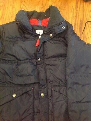 Lands' End Boys Small Sz 8 Jacket Blue------down/feather