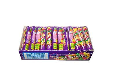 Wonka Fruit Tingles Roll 34gm Confectionery - Box 36