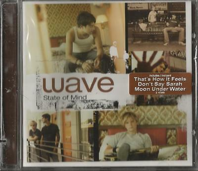 Wave State Of Mind CD New Canadian Duo Pop Rock Thats How It Feels Dont Say Sara