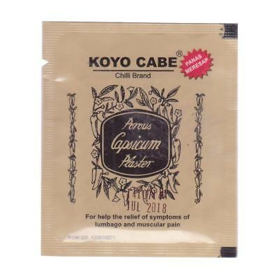 Indonesi Product Koyo Cabe Chilli Brand Porous Capsicum Plaster - Standard size