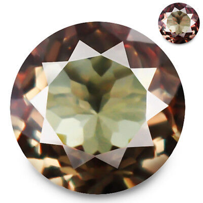 1.26ct 100% Natural earth mined greenish brown to salmon red color change garnet