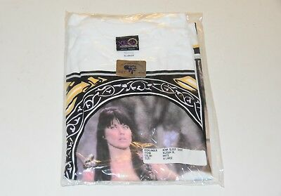 BRAND NEW Xena Warrior Princess Lucy Lawless Official Product T shirt size XL