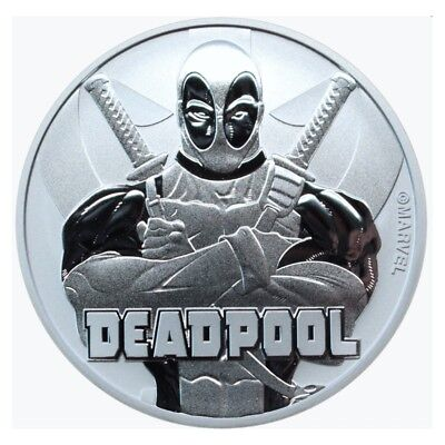 Deadpool Marvel Silver Coin Pre-Order Stock ordered expected Late October .999 F
