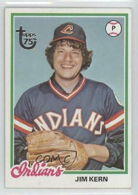2014 Topps 75th Anniversary Buybacks #1978-253 Jim Kern Cleveland Indians Card