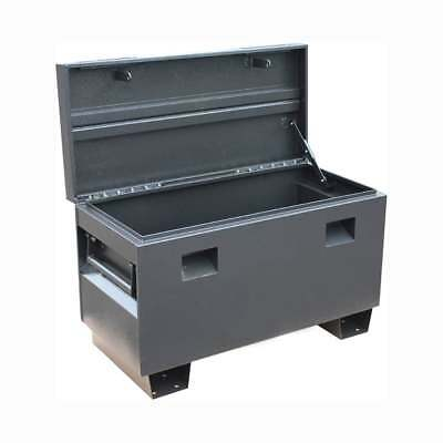 Steel Security Site Box Truck Van Vault Secure Tool Chest 36 Inch With Handles