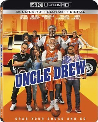 Uncle Drew (4K Ultra HD, Blu-ray, Digital), NEW - With Slip Cover