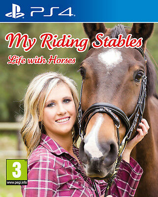 My Riding Stables - Life with Horses PS4 Game | BRAND NEW & SEALED