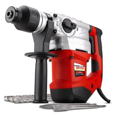 Bayer 4KG 1400W 3-Mode SDS Plus Rotary Hammer Drill New Aust Stock Fast Delivery