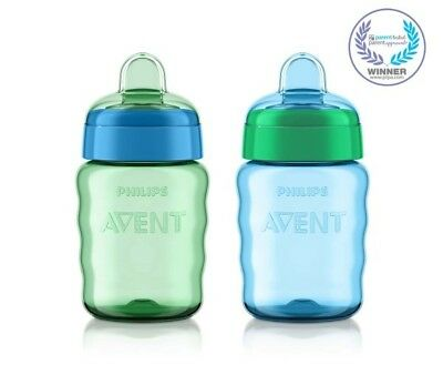 Philips Avent My Easy Sippy Spout Stage 2 Soft Spout Sippy Cup - 2 pack