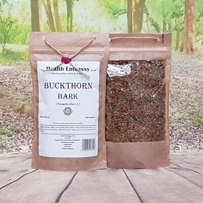 Buckthorn Bark 50g (Frangula alnus) - Health Embassy - 100% Natural
