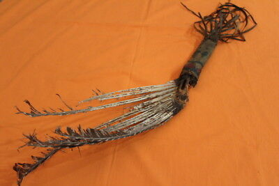 Rare 1800's Native American Indian Medicine Mans Dance Wand Spirit Stick
