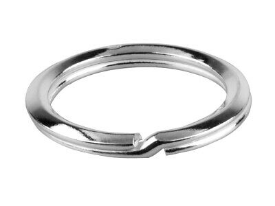 KEY RING- Split ring - Keyring - Genuine Solid 925 sterling silver - Father gift