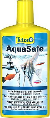 TETRA Aquasafe Tap Water Conditioner Dechlorinator Aqua Safe Chlorine Fish