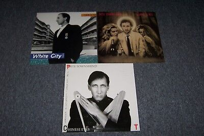 Pete Townshend – Empty Glass/ATCO + White City LP & Chinese Eyes/ Exc