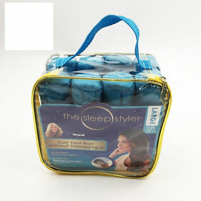 "The Sleep Styler For Long Hair NIP 8 Rollers Curlers 6"" As seen on Shark Tank"