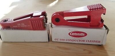 Set of 2 Ripley Cablematic CC 100 Conductor Cleaner