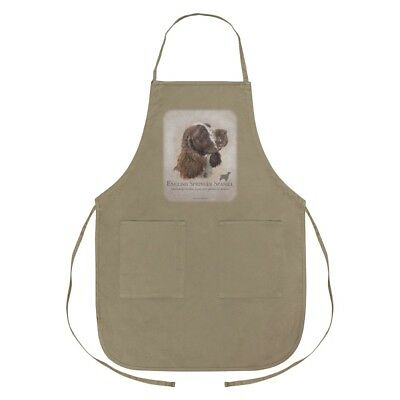 English Springer Spaniel Dog Breed Apron with Pockets