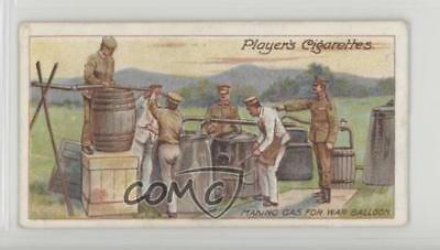 1910 ITC Army Life Tobacco Player's Back Making Gas for War Balloons #19 0iu