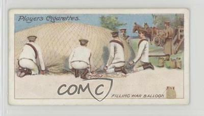 1910 ITC Army Life Tobacco Player's Back Filling War Baloons #20 0iu