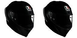 AGV Corsa Carbon Fiber Race Helmet Gloss or Matte Black Super Lightweight Shell