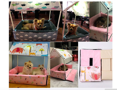 tent dog cat  indoor house kennel pet puppy bed cozy removable washable pet