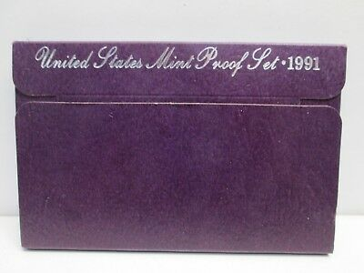 1991 US Mint Proof Set