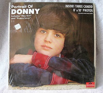 1972 - Mgm Records - Donny Osmond - Portrait Of Donny - Record Album + Pictures!