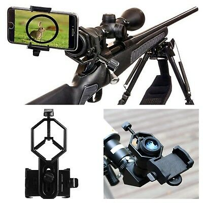 Universal Mobile Phone Holder Spotting Scope Cellphone Adapter Rifle Mount Stand